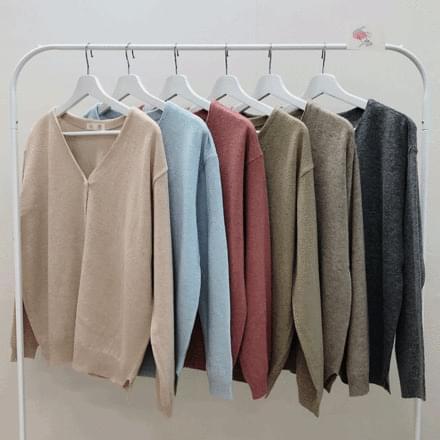 wool pastel cardigan