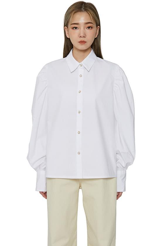 Cella puff blouse