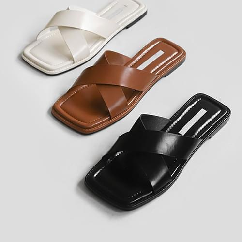 charon strap slippers