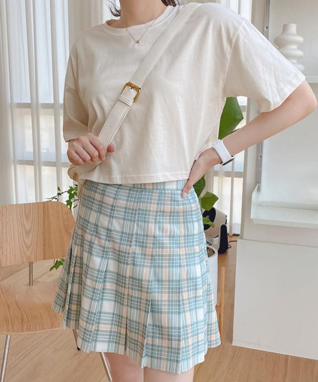 Big Size 55-88 Saiming Neon Crop Short Sleeve T-shirt