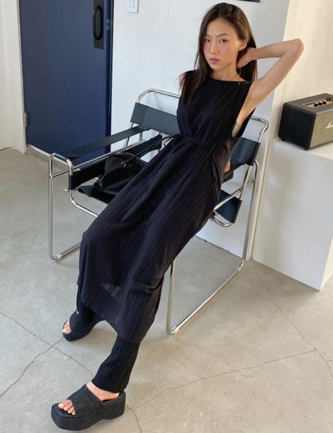 Minimal Long Dress