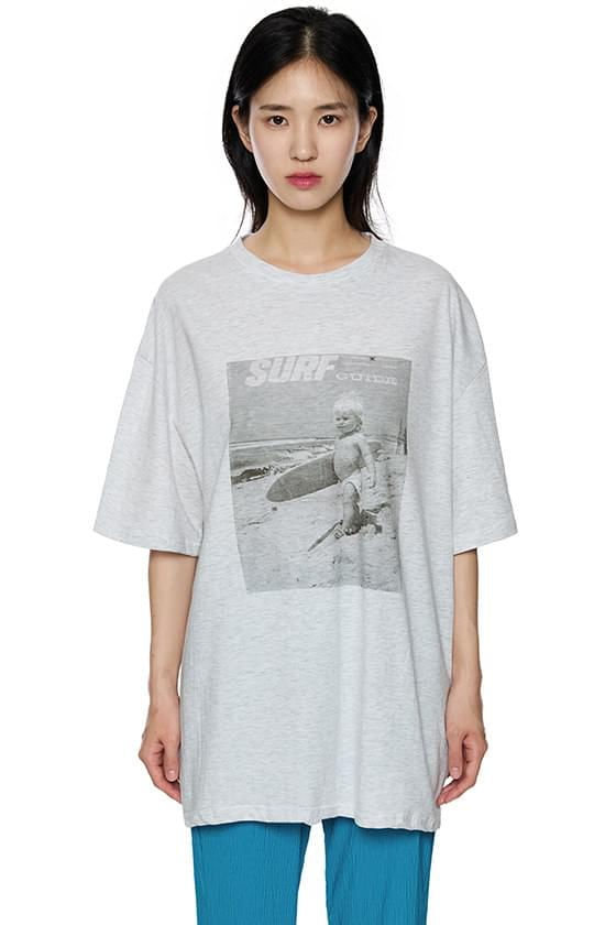 baby surfing tee