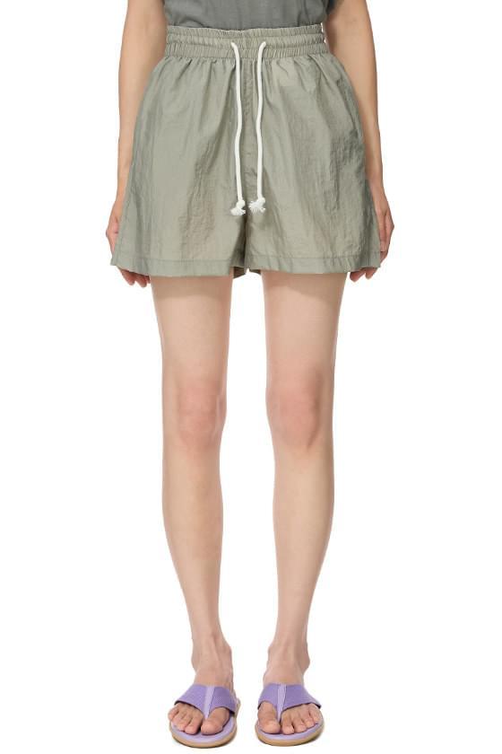 and nylon shorts