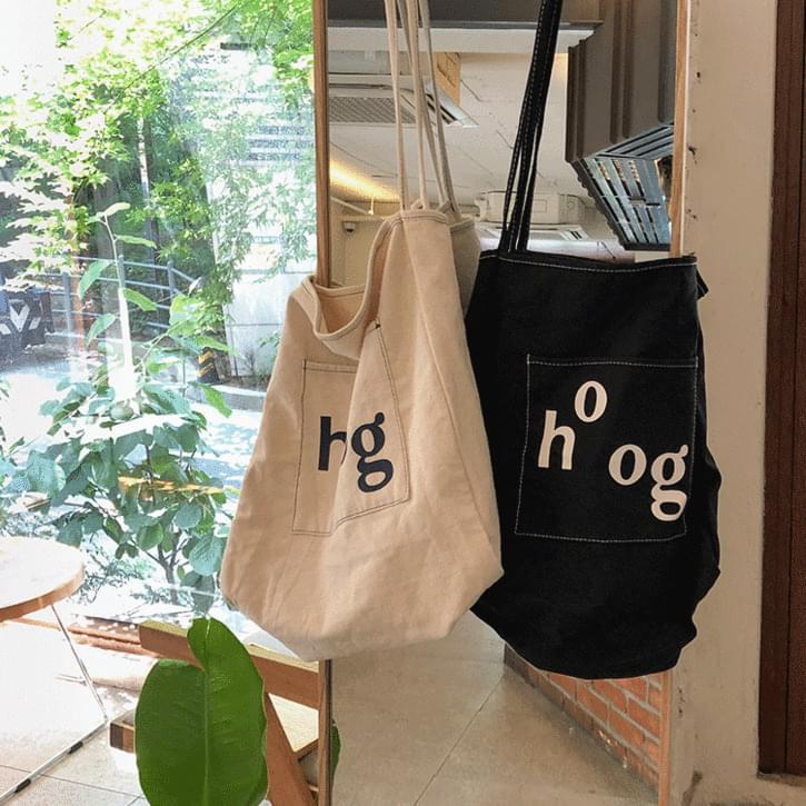 hog basket eco bag