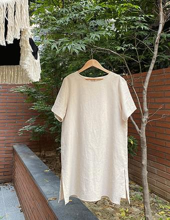 Purdin*Linen Jumpsuit Dress