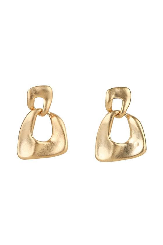 Antique morable earrings