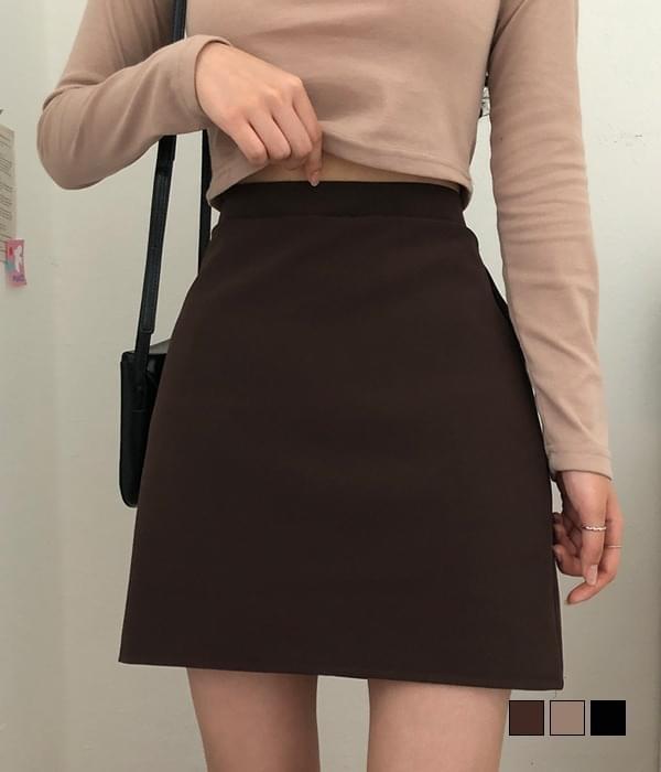 Bamtol Basic Daily Simple Mini Skirt 裙子