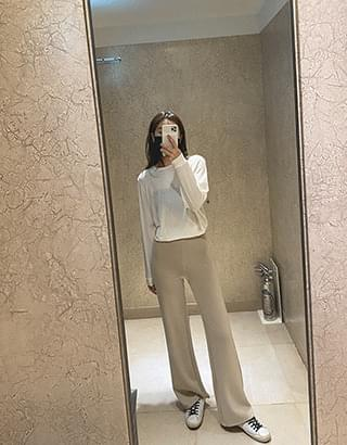comfort wide trousers