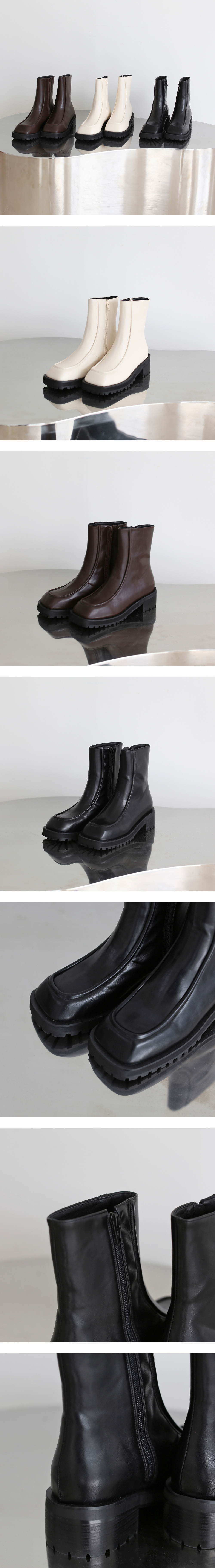 Schaefer Square Ankle Boots