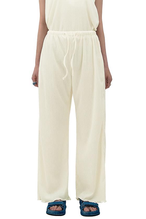 Mod Wrinkle Lounge Banding Pants 長褲