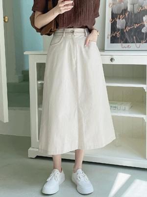 Tend Cotton Skirt