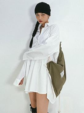 Overfit Clan Shirt & Mini Dress