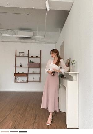 Eun Hae Flare Long Skirt