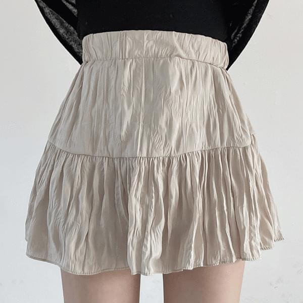 Sharyl pleated skirt