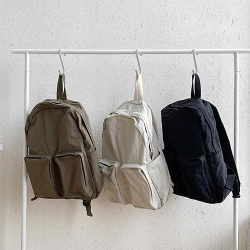 rustic big pocket tote bag backpack 3color B#YW108