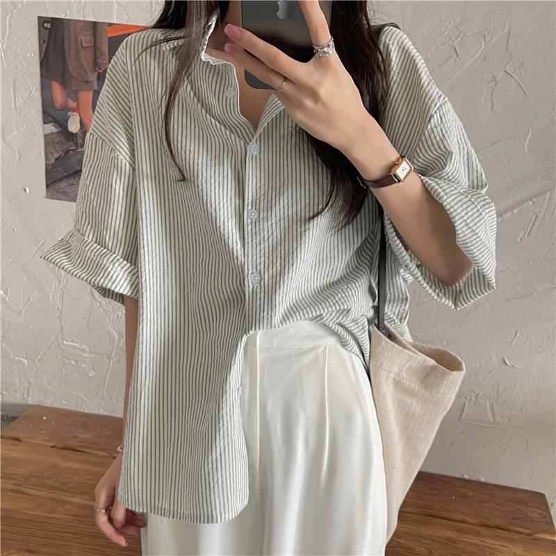 nb4437 jack stripe short sleeve shirt