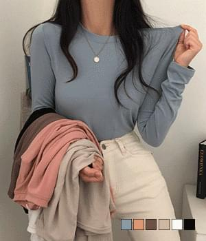 Long-sleeved long sleeved T-shirt