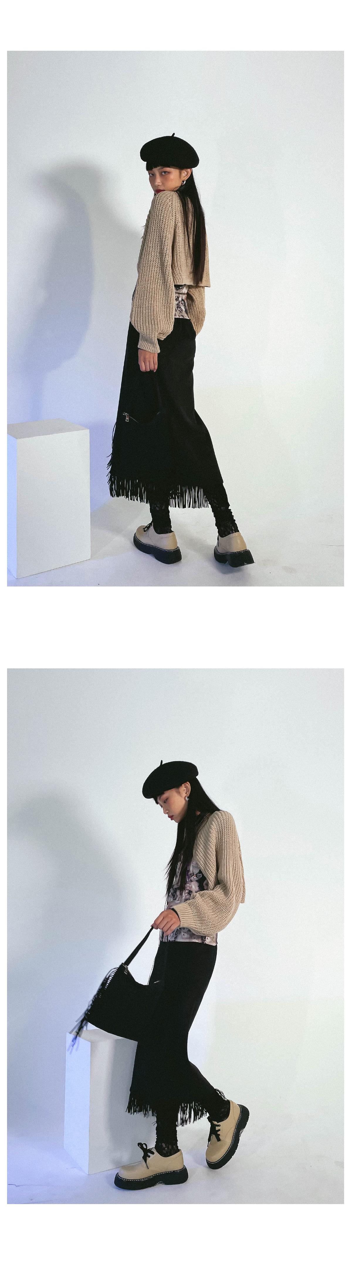 Trick Knitwear Bolero