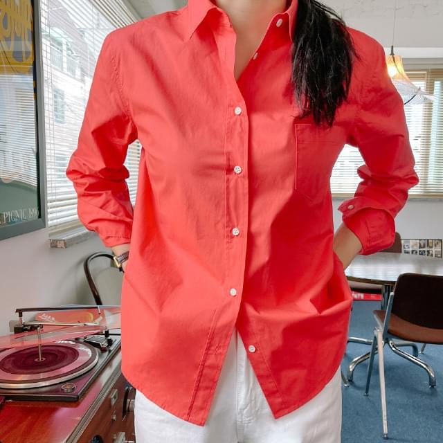 Divine Coloring Cotton Shirt