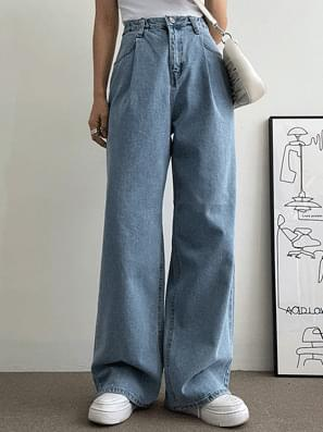 Over Pintuck Covered Wide Pants
