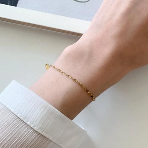 Lip Chain Bracelet A#YW057