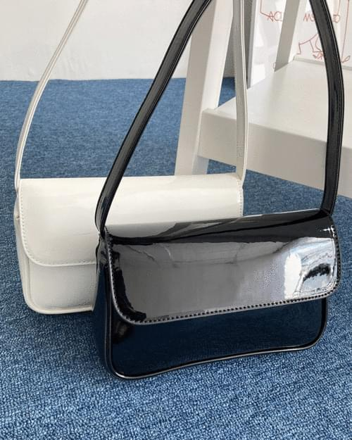 Sony Daily Enamel Square Shoulder Bag