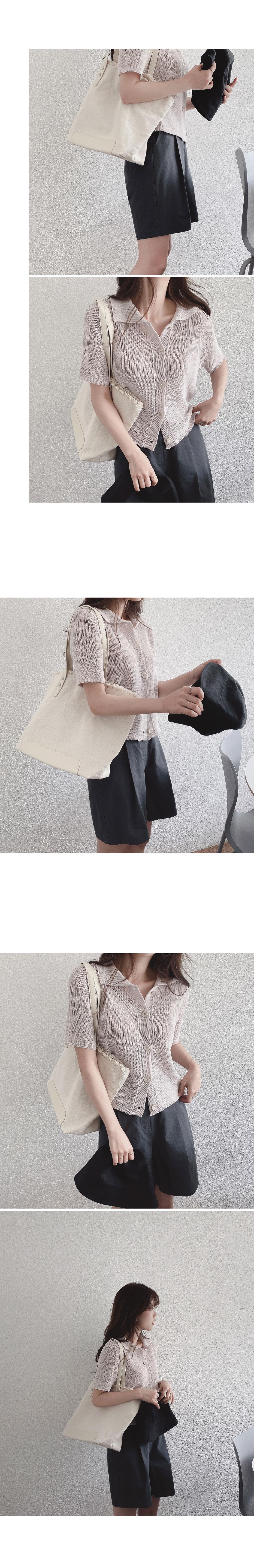Bishop cotton shoulder bag