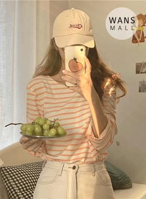 tt5659 Susan Striped Long Sleeve T-shirt