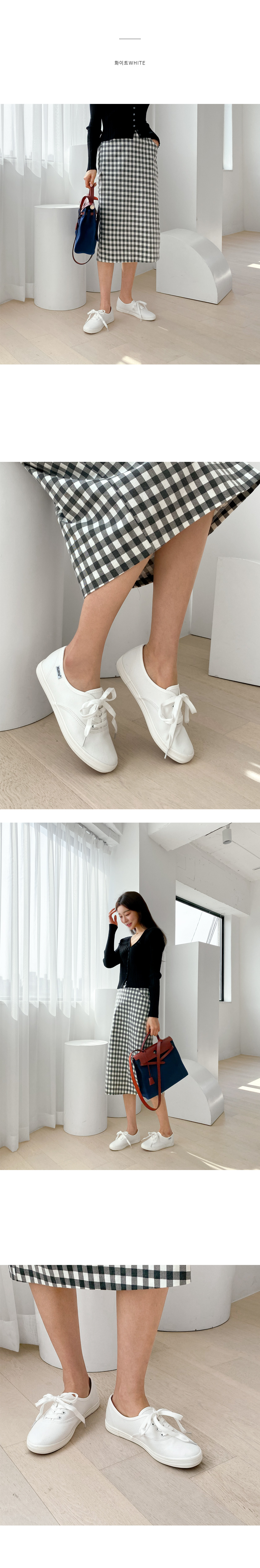 Polon Basic lace-up sneakers