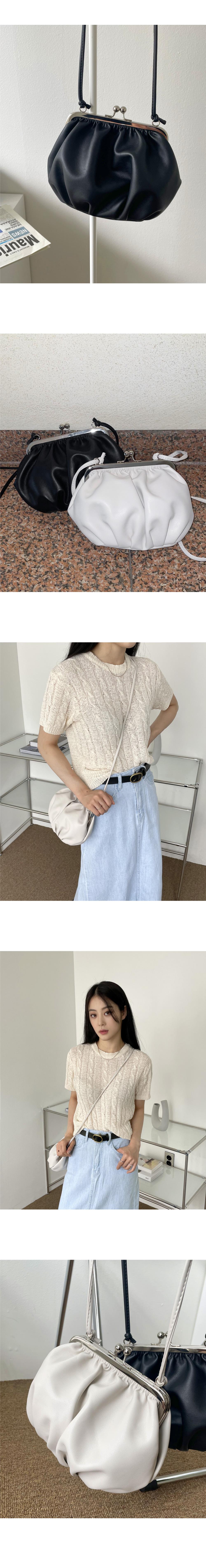 Riku Dumpling Wallet Soft Leather Crossbody Bag
