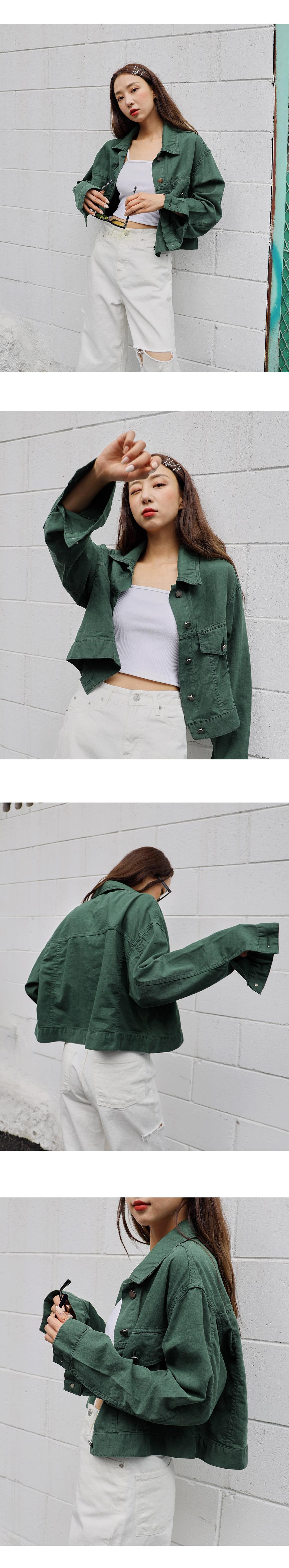 linen mix color jacket