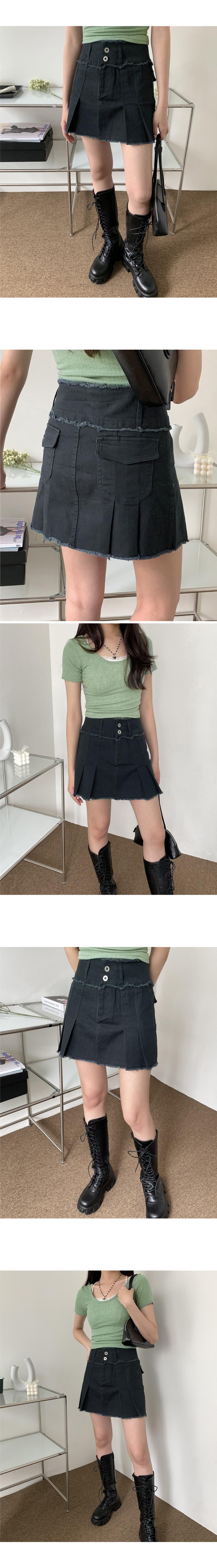 Skirt Teen Surgical Pleated Skirt