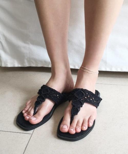unique line anklet