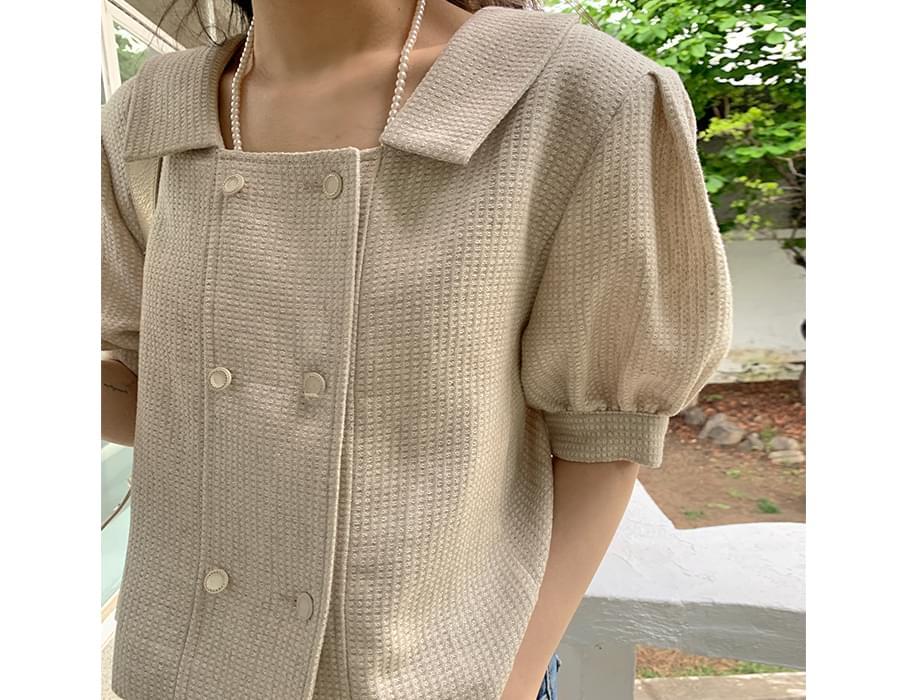 Sweet Summer Tweed Double Jacket