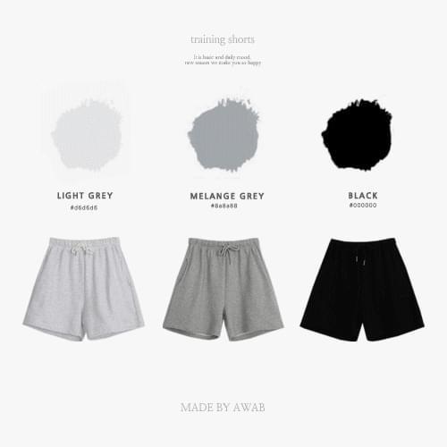 #AWABMADE:_Tantan Cotton Training Shorts