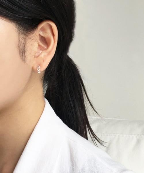 chain onetouch earring