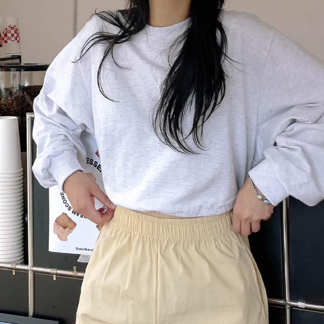 carder string Sweatshirt 長袖上衣