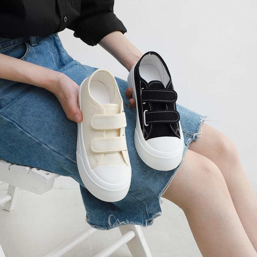 Velcro Whole Heel Height Sneakers 11054 ♡ 2nd Sold Out ♡