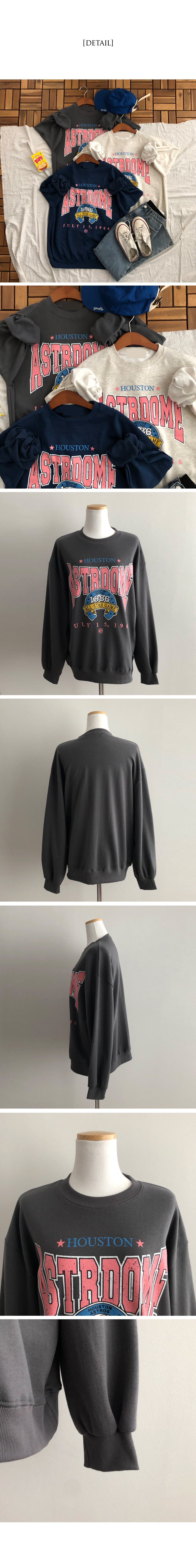 Houston Crack Rouge Sweatshirt