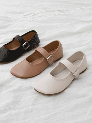 Wave toe Mary Jane flat shoes 11072 ♡7th sold out♡