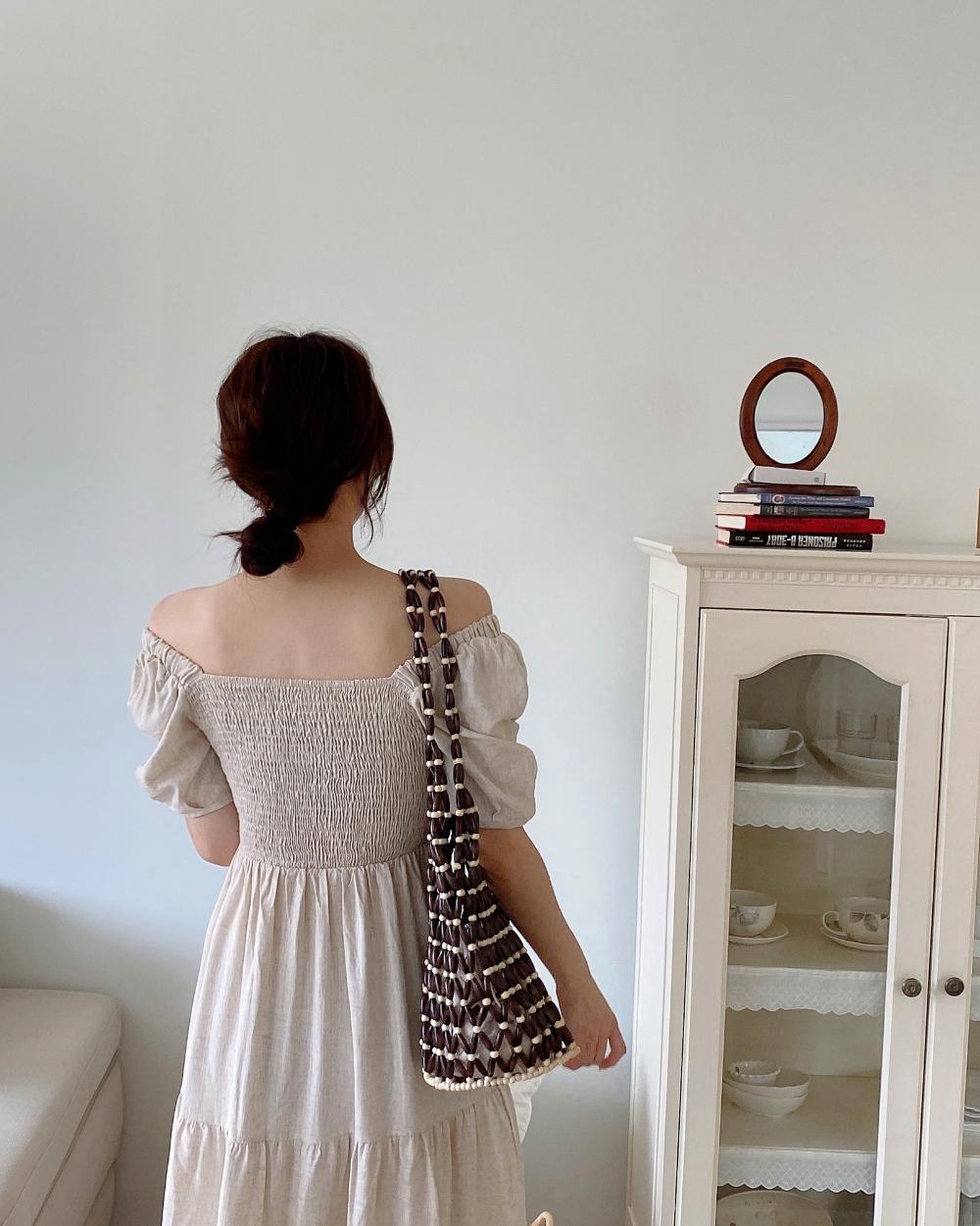 드레스 모델 착용 이미지-S1L42