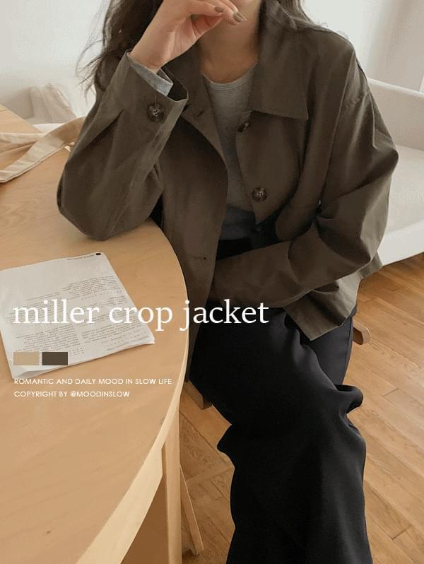 Miller cropped jacket