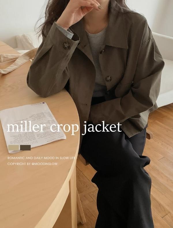 Miller cropped jacket 夾克