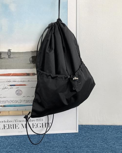 New Bokjori Nylon String Backpack