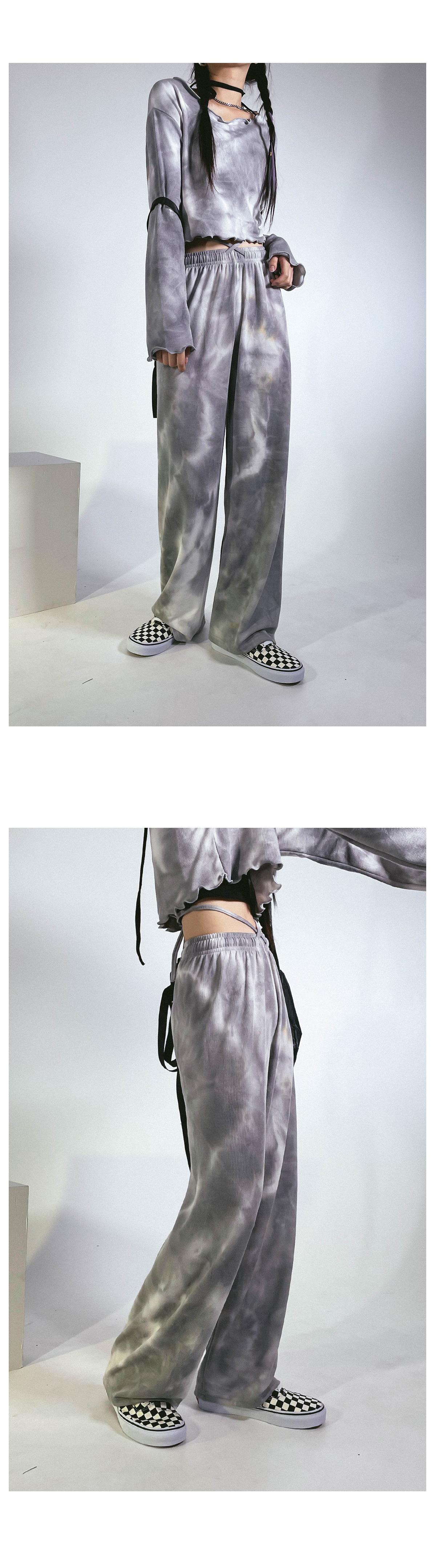 Tie-Die Fresh Set - Wide Pants