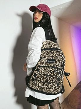 leopard kits backpack