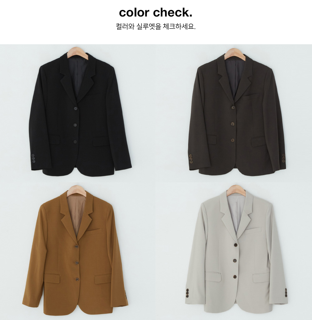 Pio slit tailored jacket