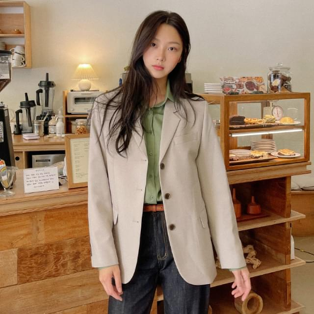 Pio slit tailored jacket 夾克