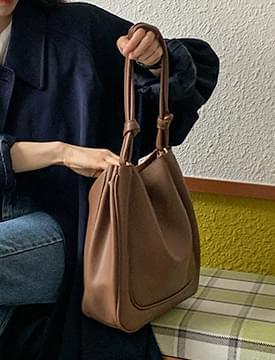 Soft Square Leather Shoulder Bag