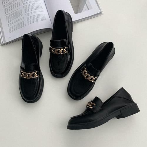 Recommended protein chain loafers for short girls
